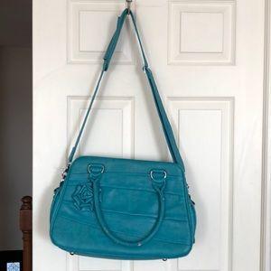 Handbags - Jo Totes Rose DSLR camera bag, teal, customizable